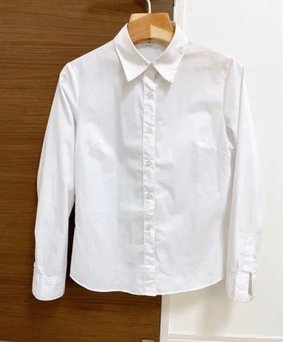 シャツ 長袖 ブラウス カッターシャツ