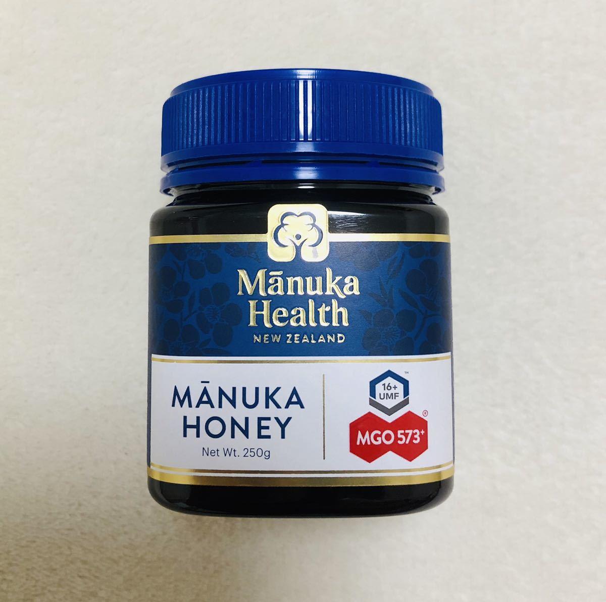マヌカハニーMGO573+ 250g 【新デザイン・正規品】