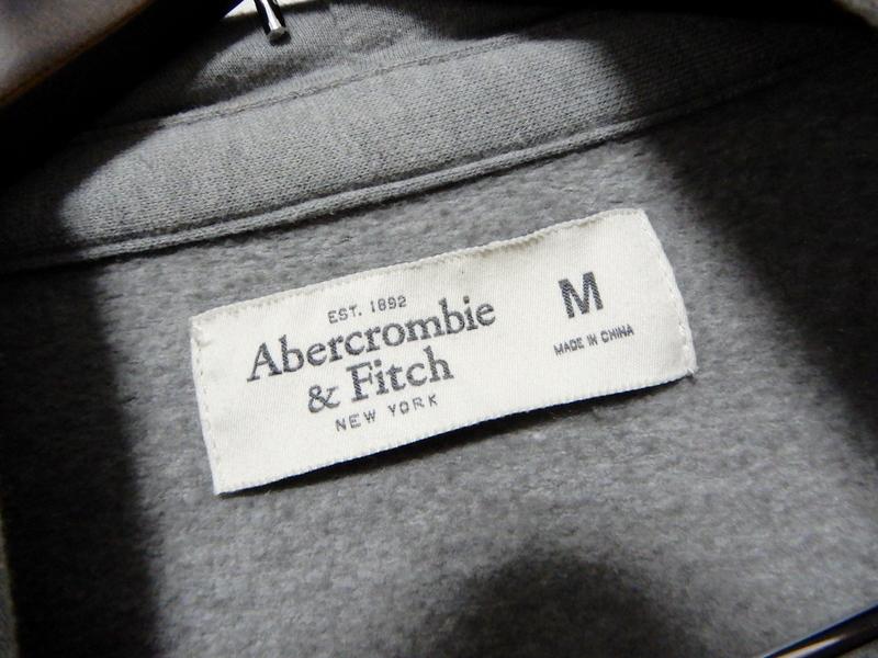 Abercrombie&Fitch アバクロンビー&フィッチ パーカー M プリント加工