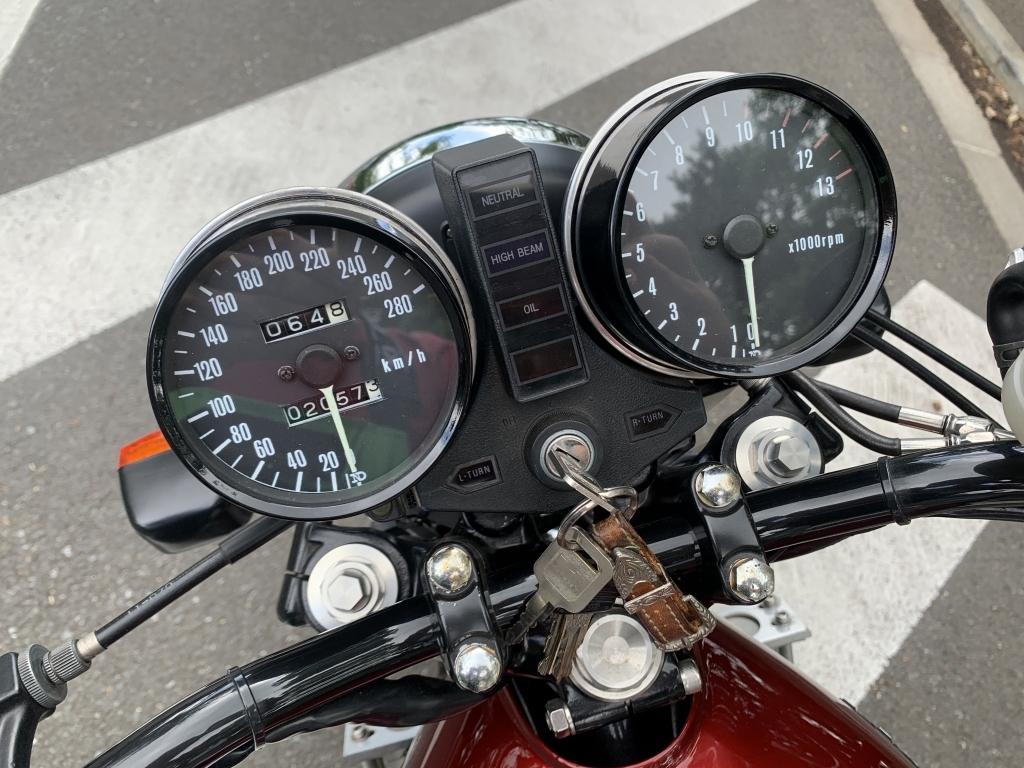 Z1000Mk2 1980年式 KZ1000-A4 フルレストア フルカスタム済 職権打刻 検令和2年11月 過去5年履歴詳細あり_画像8