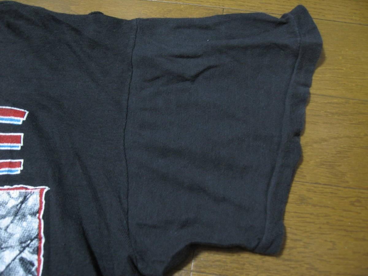 80's ERASURE WILD LIVE IN CONCERT Vintage Tee size XL PARAMOUNT Tシャツ Depeche Mode イレイジャー_画像9