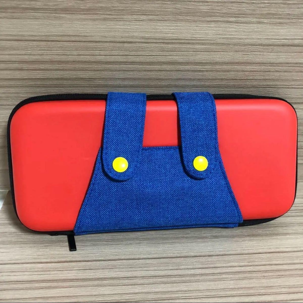 Nintendo Switch / 任天堂スイッチ 専用 マリオ風カバー 赤青