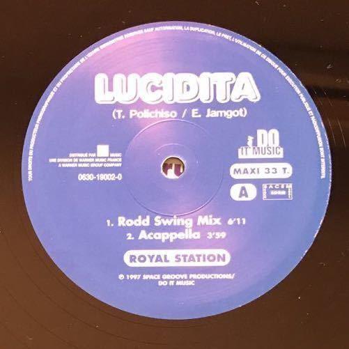 【eu-rap】Royal Station / Lucidita [12inch]オリジナル盤《4-1-74》