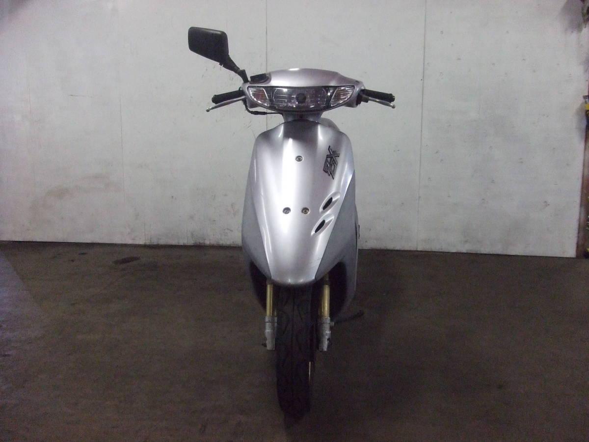 「ホンダ HONDA ディオZX Dio ZX 書類有り 場内走行OK AF35 売り切り 未整備 原付 スクーター 50cc」の画像2
