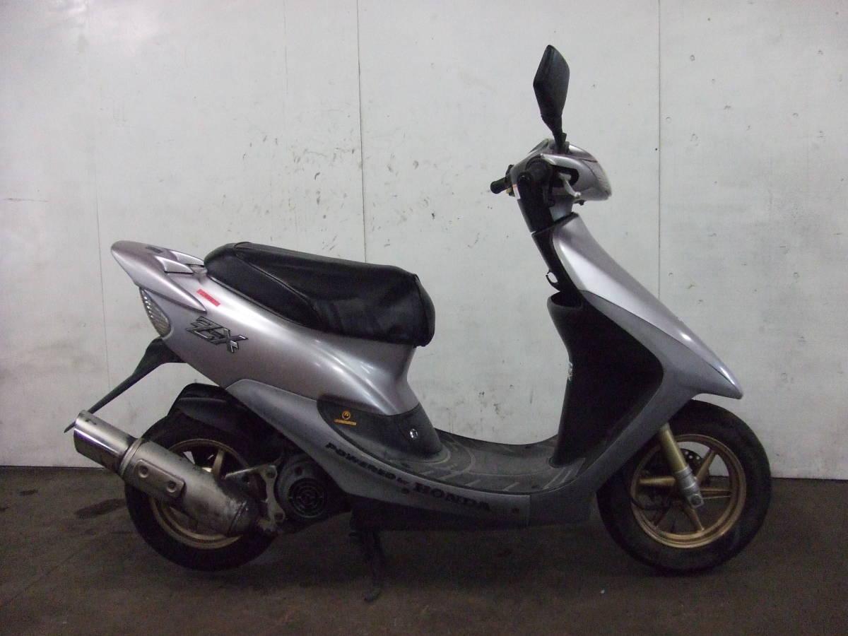 「ホンダ HONDA ディオZX Dio ZX 書類有り 場内走行OK AF35 売り切り 未整備 原付 スクーター 50cc」の画像1