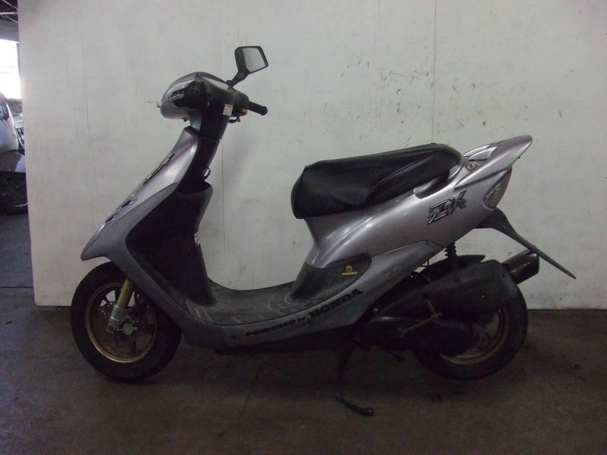 「ホンダ HONDA ディオZX Dio ZX 書類有り 場内走行OK AF35 売り切り 未整備 原付 スクーター 50cc」の画像3