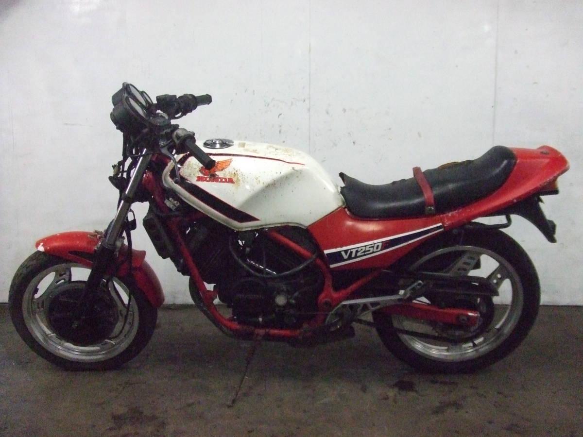 「ホンダ HONDA VT250F MC08 書類なし 売り切り 検索 250cc 中型 ネイキッド」の画像3