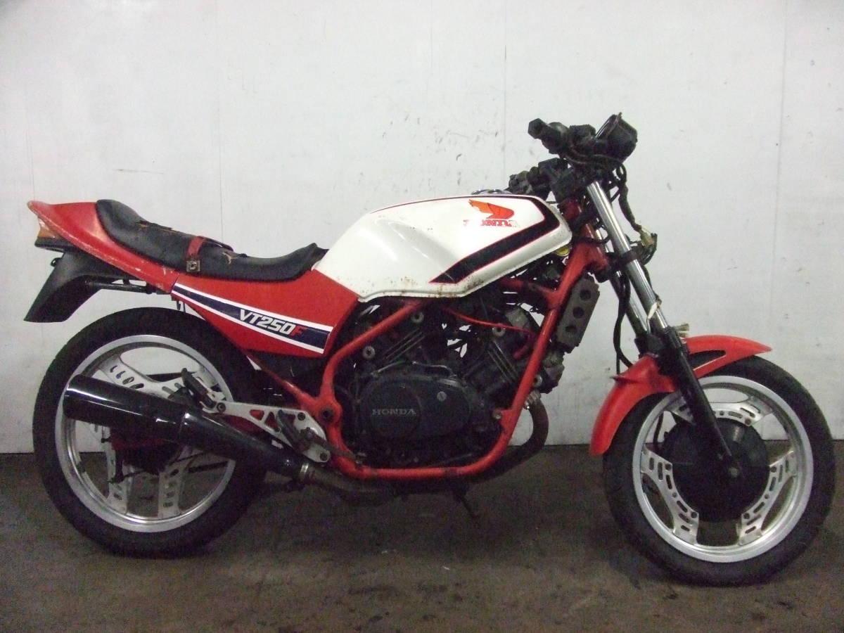 「ホンダ HONDA VT250F MC08 書類なし 売り切り 検索 250cc 中型 ネイキッド」の画像1