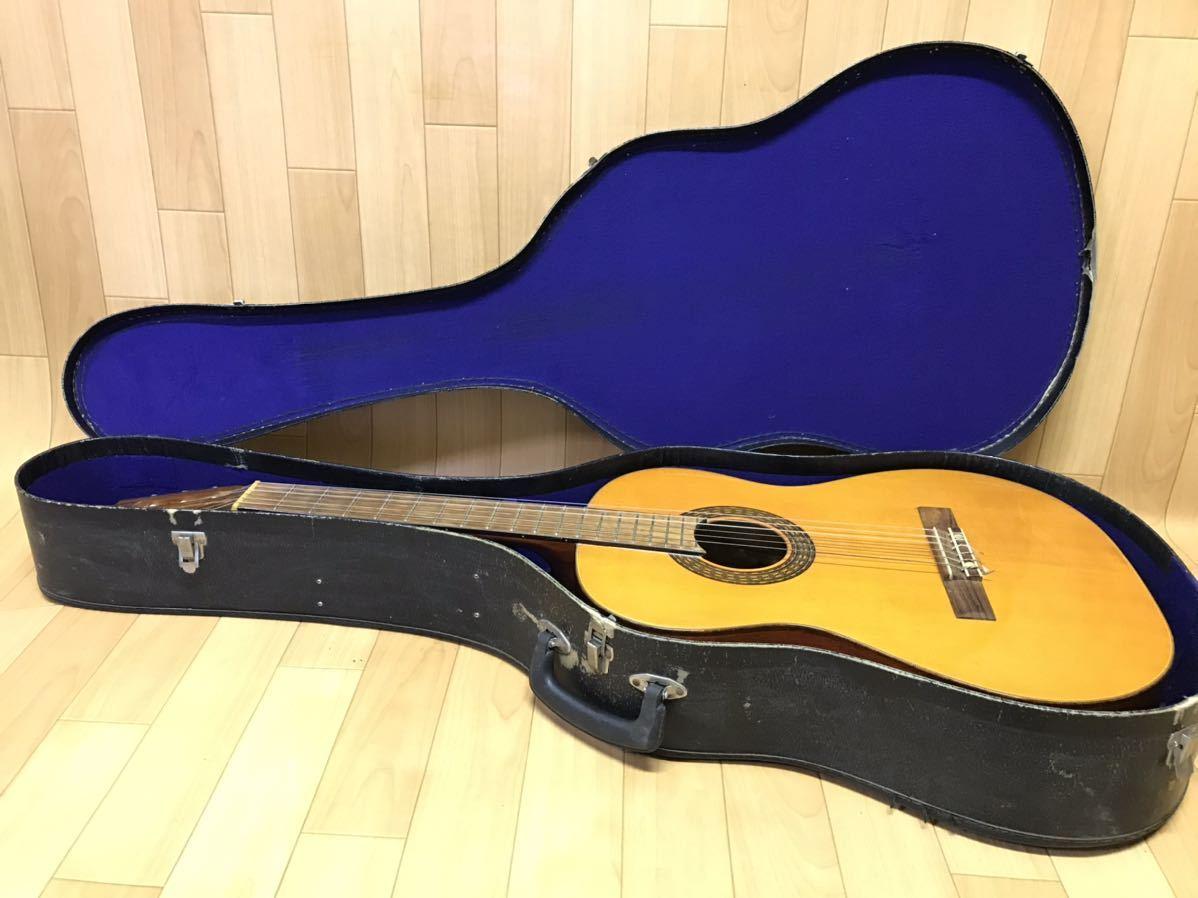 長野発!希少!HAMAMATSU KAWAI KG-403 クラシックギター ハードケース 付き現状品_画像2