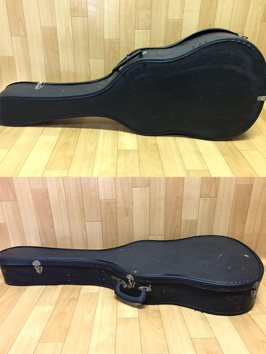 長野発!希少!HAMAMATSU KAWAI KG-403 クラシックギター ハードケース 付き現状品_画像6