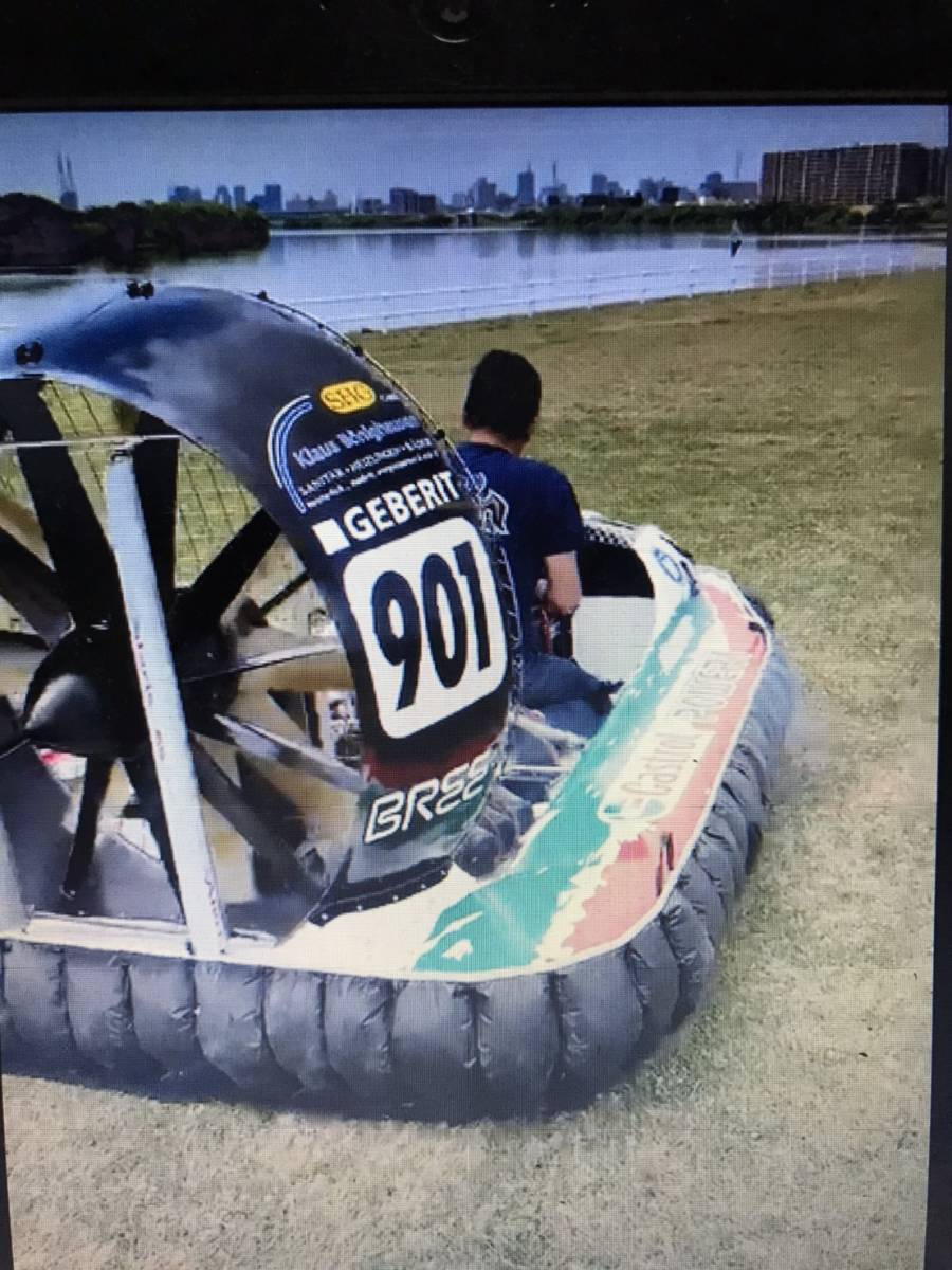 超超希少 世界No1ホバークラフト F1クラス(最上位クラ) 世界選手権で優勝した艇です。 _画像10