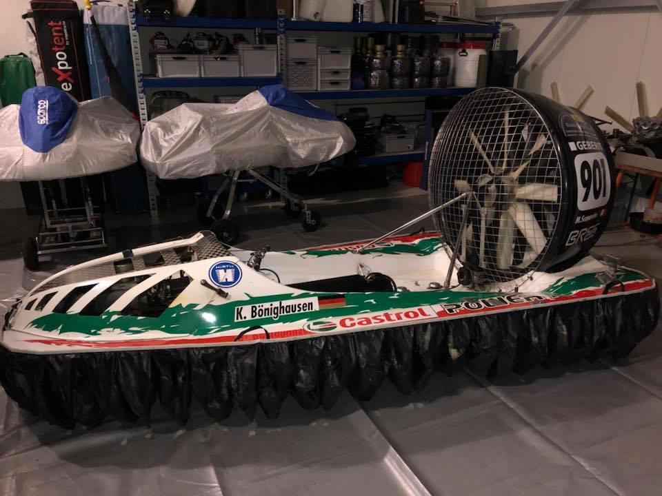 「超超希少 世界No1ホバークラフト F1クラス(最上位クラ) 世界選手権で優勝した艇です。 」の画像1