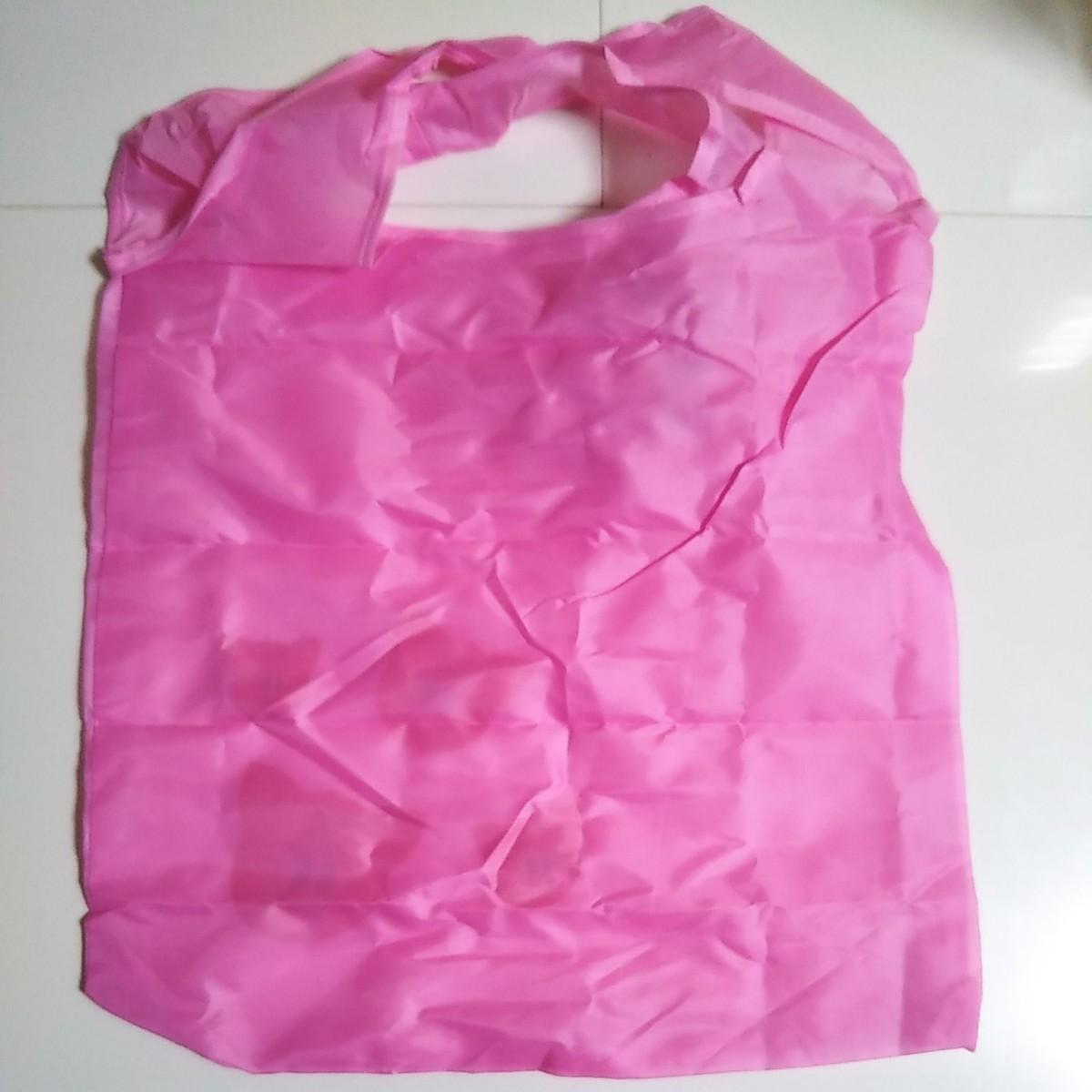 エコバッグ  ぶた 折りたたみ コンパクト ショッピングバッグ