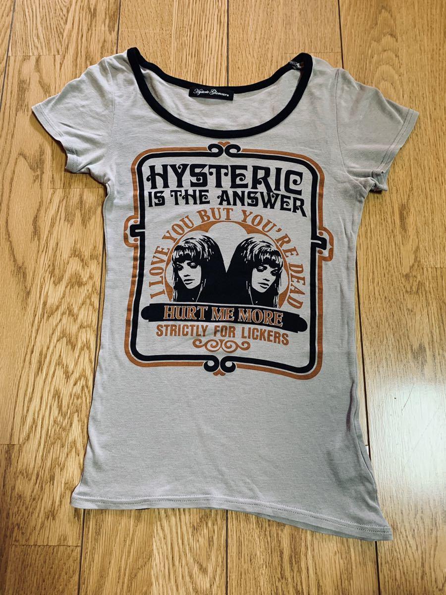 HYSTERICGLAMOUR ヒステリックグラマー 半袖カットソー Tシャツ 半袖Tシャツ ヒステリックミニ ヒスミニ オゾン