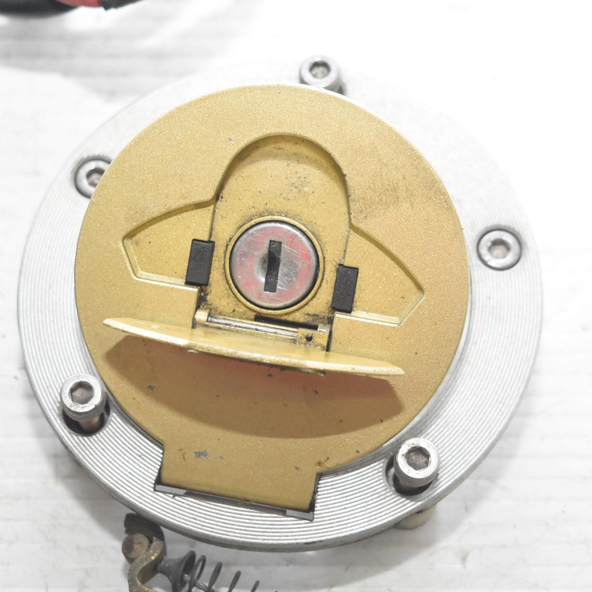 ドゥカティ SS900 ZDM1LC メインキー タンクキャップ シートロック 共通キーセット 【A】ASV_画像2