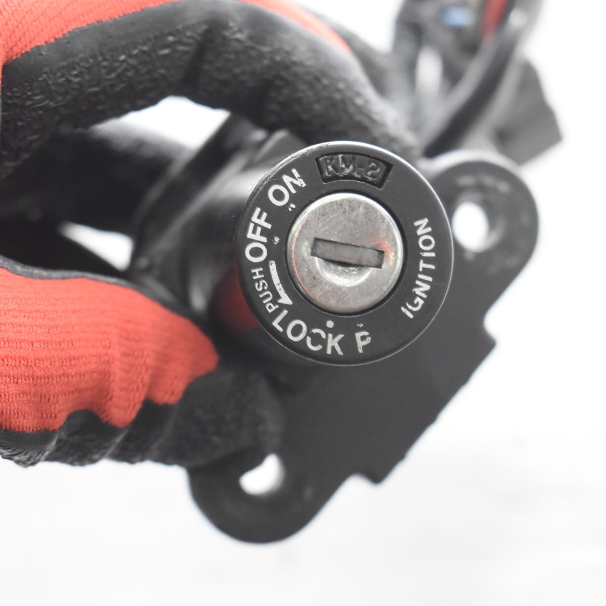 ドゥカティ SS900 ZDM1LC メインキー タンクキャップ シートロック 共通キーセット 【A】ASV_画像6