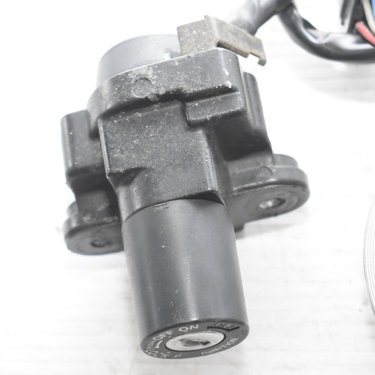 ドゥカティ SS900 ZDM1LC メインキー タンクキャップ シートロック 共通キーセット 【A】ASV_画像5