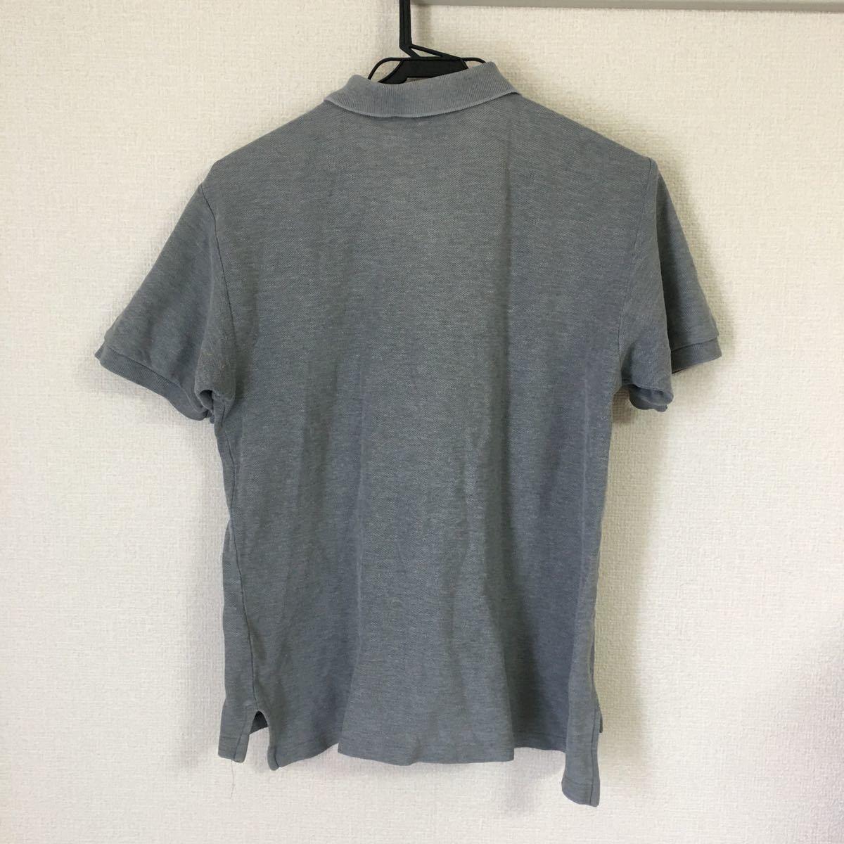 半袖シャツ ポロシャツ M ラルフローレン グレー