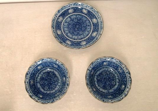 【まとめ売り】★愛陶★染付 大皿 1枚 & 深鉢 2枚 和食器