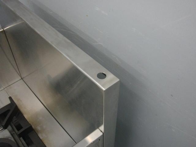 03-21871中古品 マルゼン スープレンジ MLSX-077C 都市ガス ローレンジ 750×735×450 ガスコンロ 業務用 厨房機器 1連 _画像3