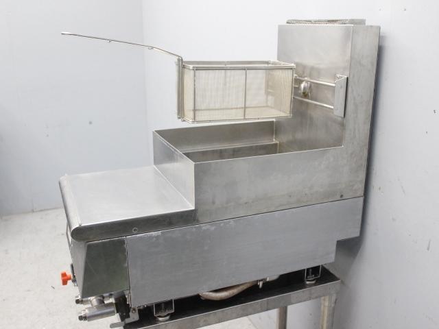 03-30607 中古品 フジマック ゆで麺器 スパゲッティ用 FGNB149 LPガス プロパンガス 100V 冷凍麺 スパゲティ 業務用 厨房機器 ボイラー_画像6