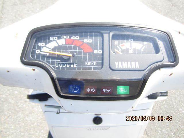 「ヤマハベルーガ50(5G6)実働車書類付き(白)レストアベース車」の画像3