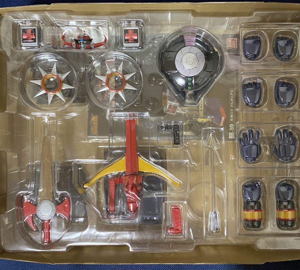 【送料無料】超合金魂 未来ロボ ダルタニアス GX-59_画像3