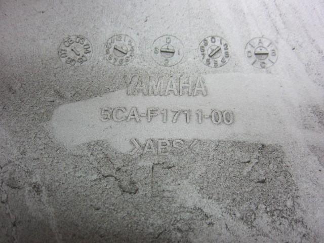 ヤマハ マジェスティ125Fi LPRSE2710 左テールカウル パールホワイト 割れ有 5CA サイドカウル カバー_画像3