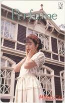 【テレカ】林原めぐみ Perfume STARCHILD 12S-HA1004 Bランク_画像1