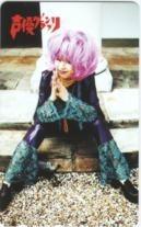 【テレカ】岩男潤子 声優グランプリ 抽プレテレカ 12S-I2001 Aランク_画像1