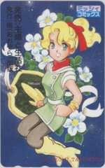 【テレカ】竹本泉 ミッシィコミックス 主婦と生活社 宙出版 テレホンカード 3MC-T0016 Cランク_画像1
