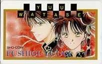 [Telephone card] Yuu Watase Fushigi Yugi comic 3SC-H0073 A rank