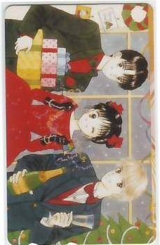 Wataru Yoshizumi Marmalade Boy telephone card IK323 B rank