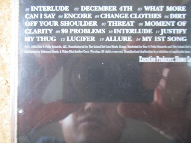 Jay-Z/The Black Album ジェイ-Z 2003年 大傑作・大名盤♪廃盤♪リスペクトする、12人のプロデューサーを起用♪ヒップホップ・レジェンド♪_画像3