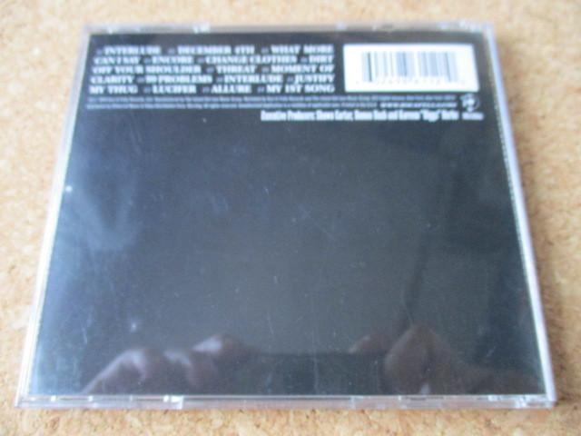 Jay-Z/The Black Album ジェイ-Z 2003年 大傑作・大名盤♪廃盤♪リスペクトする、12人のプロデューサーを起用♪ヒップホップ・レジェンド♪_画像2