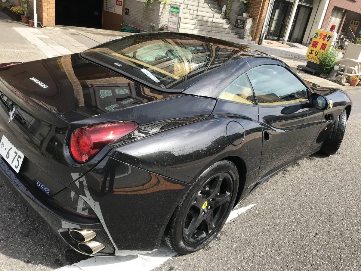 フェラーリ カリフォルニア 正規ディーラー車 バックカメラ 最安保証 社外ナビ_画像4