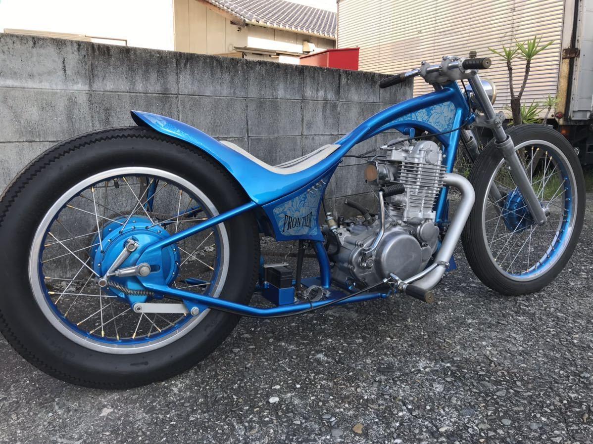 「☆SR400 ショーカー モーターショーバイク フルカスタム ディスプレイ、ベースにどうぞ!☆」の画像3