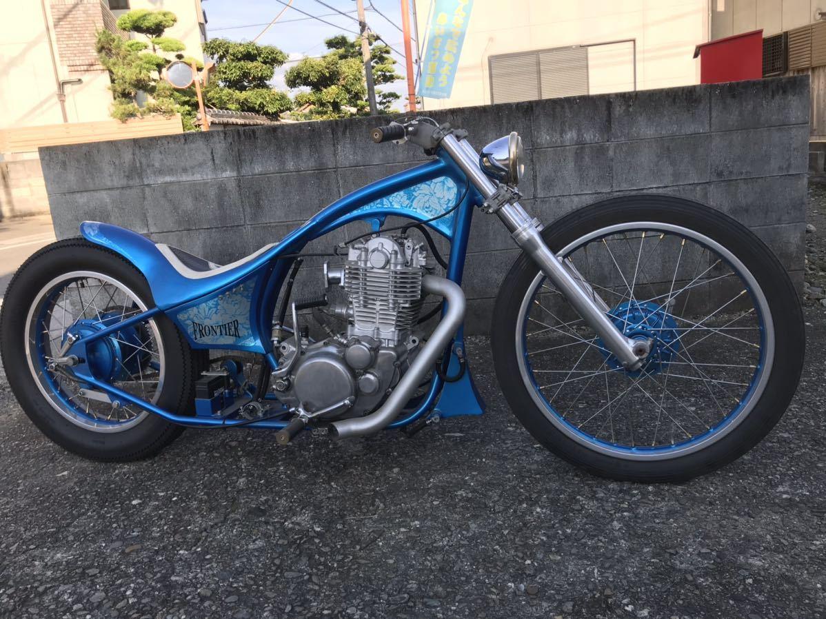 「☆SR400 ショーカー モーターショーバイク フルカスタム ディスプレイ、ベースにどうぞ!☆」の画像1