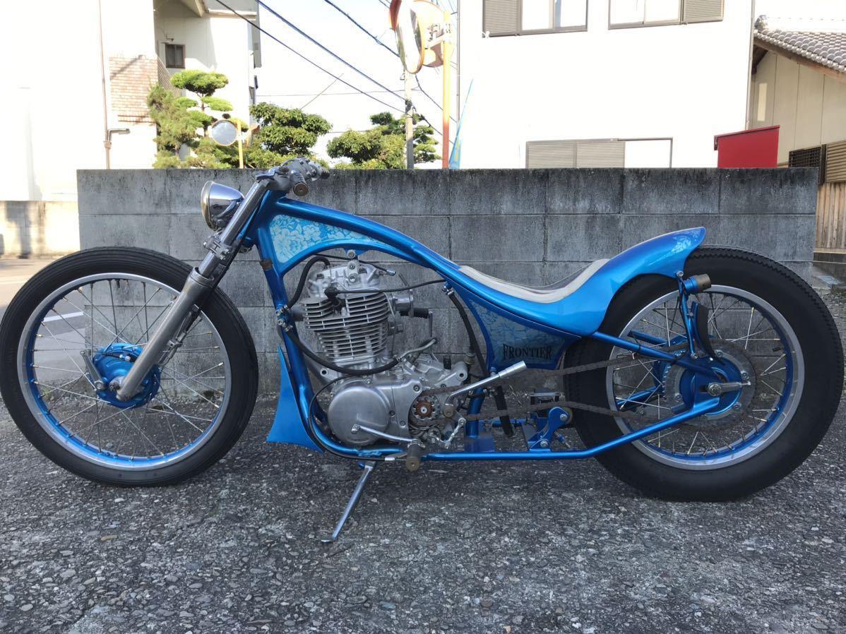「☆SR400 ショーカー モーターショーバイク フルカスタム ディスプレイ、ベースにどうぞ!☆」の画像2