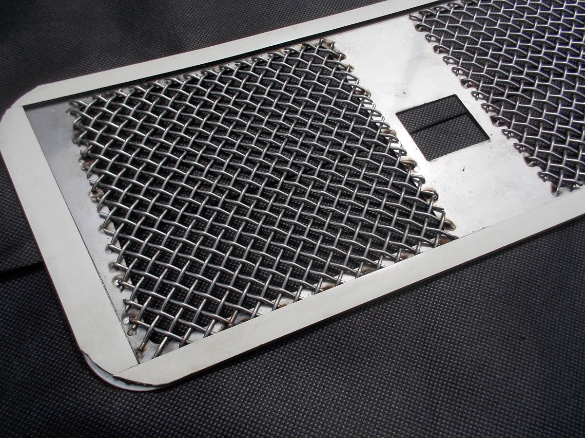 メルセデスベンツ W463 Gクラス ゲレンデヴァーゲン ステンレスクロームボンネットエアインテーク 未使用品 AMG G55 G65 G350 G500 G550_画像5