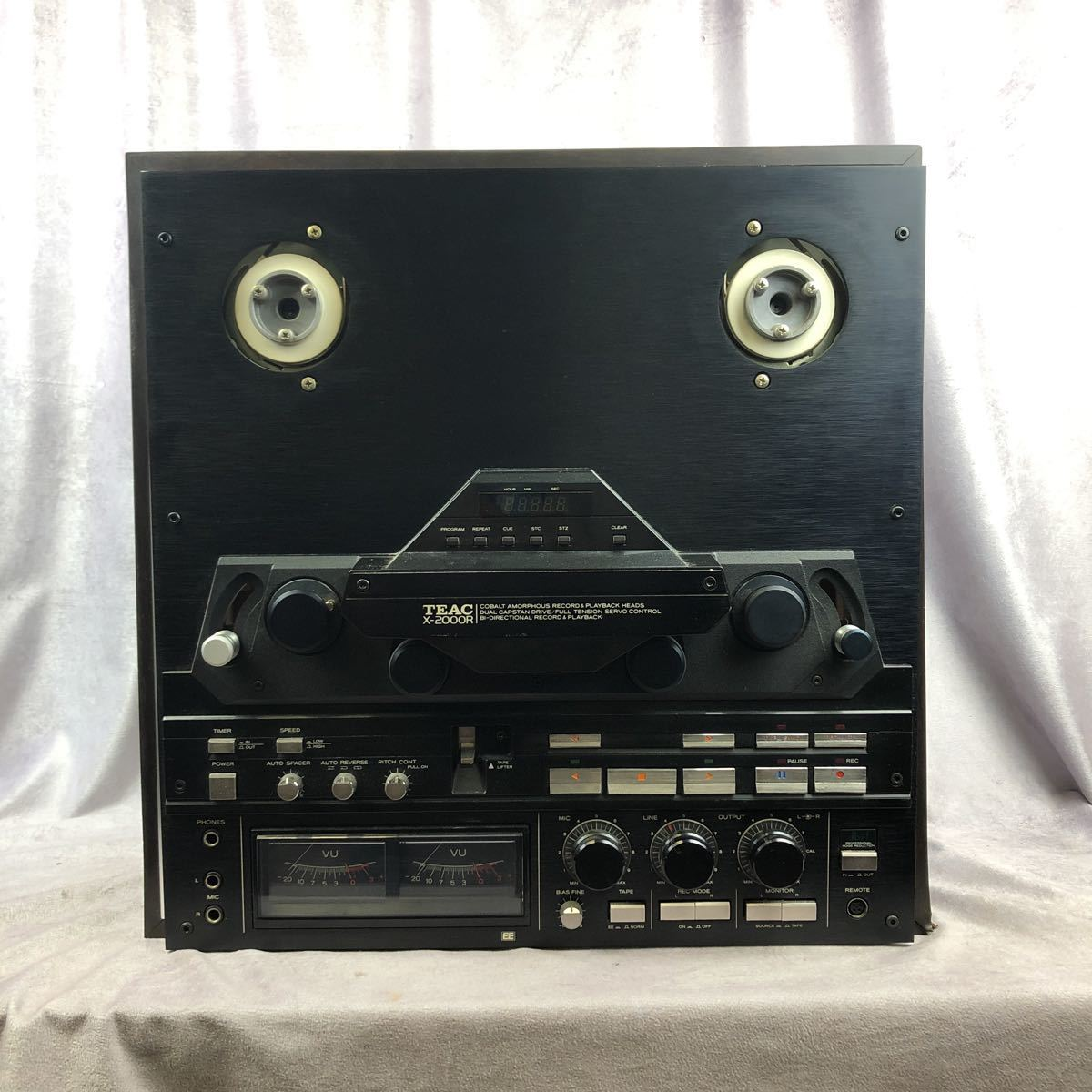 [K]TEAC X-2000R③ジャンク品 パーツ取り ティアック オープンリール