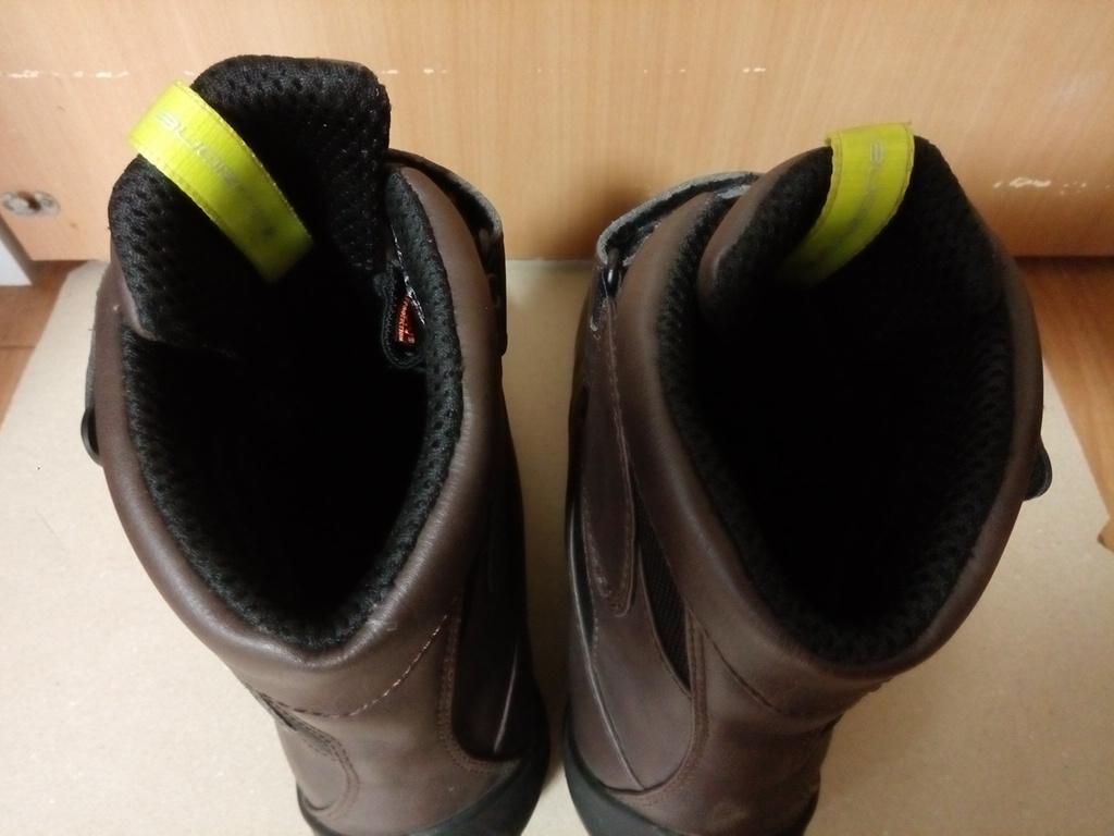 ELF(エルフ) ライディングシューズ EVOLUZIONE03【エヴォルツィオーネ03】 ダークブラウン 26.5cm バイクブーツ 靴_画像4