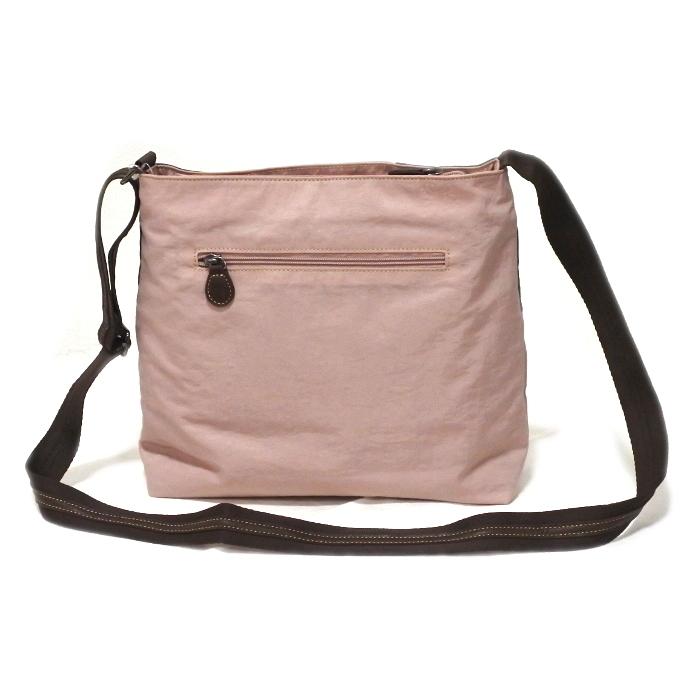 デニム レディース ショルダーバッグ ピンク 斜め掛け 軽い たくさん入る おしゃれ カバン かばん 鞄 ミセス 女性 シニア 母の日 ギフト_画像2
