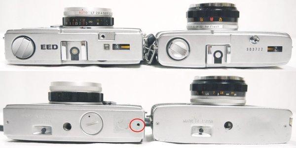 H527●日本製 OLYMPUS オリンパス フィルムカメラ 4台セット PEN D3/PEN EE/PEN EED/TRIP 35 オリンパス ペン トリップ_画像8