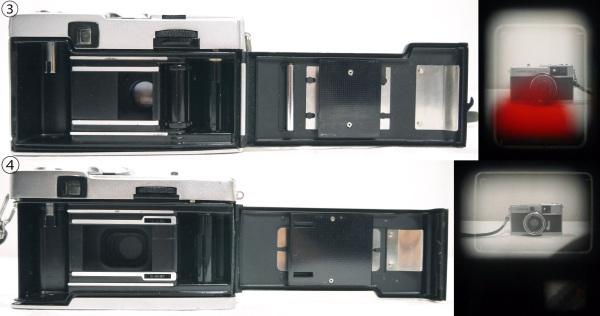 H527●日本製 OLYMPUS オリンパス フィルムカメラ 4台セット PEN D3/PEN EE/PEN EED/TRIP 35 オリンパス ペン トリップ_画像10