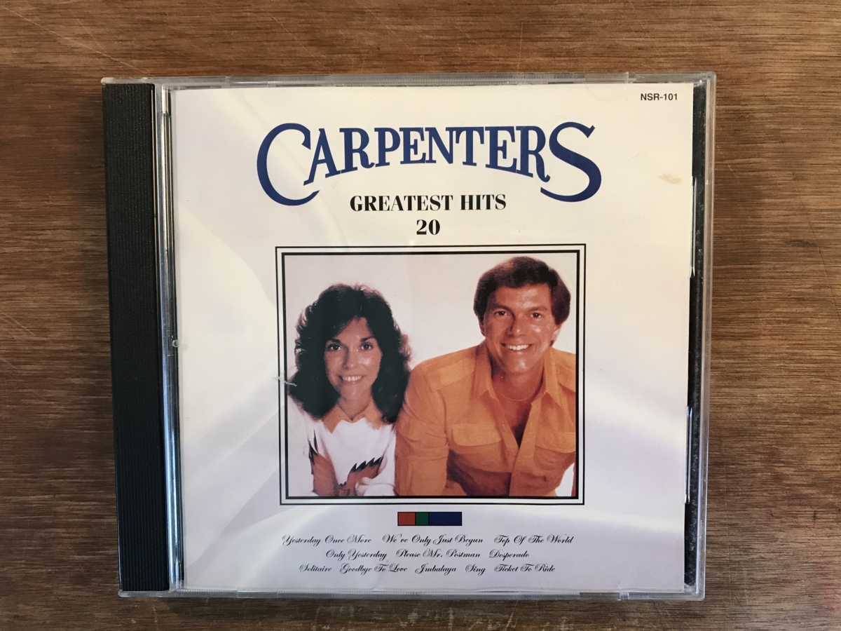 ■送料無料■CARPENTERS [GREATEST HITS 20] 輸入盤 CD 音楽 MUSIC /UN/M25-61_画像1