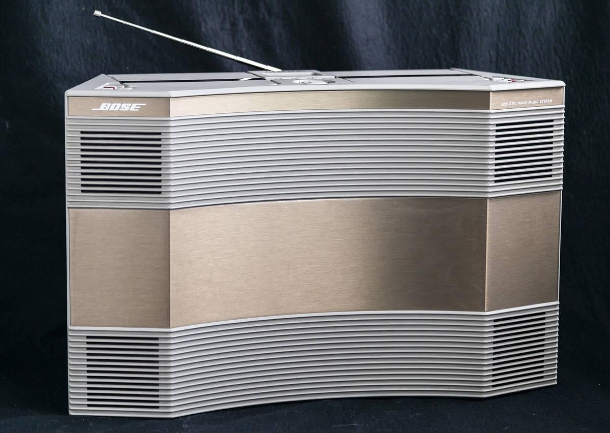 驚異の音!! BOSE ACOUSTIC WAVE AW-1D 完動超美品 ケース保証付