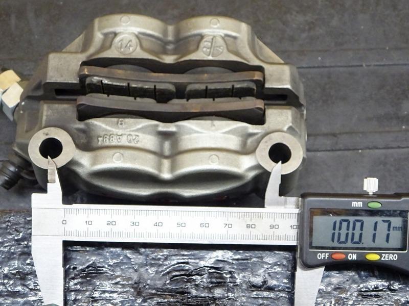 【200618】モンスター1200S '14◇ フロントブレーキキャリパー モノブロック ラジアルマウント M50 brembo ブレンボ 【ドゥカティ M1200_画像10