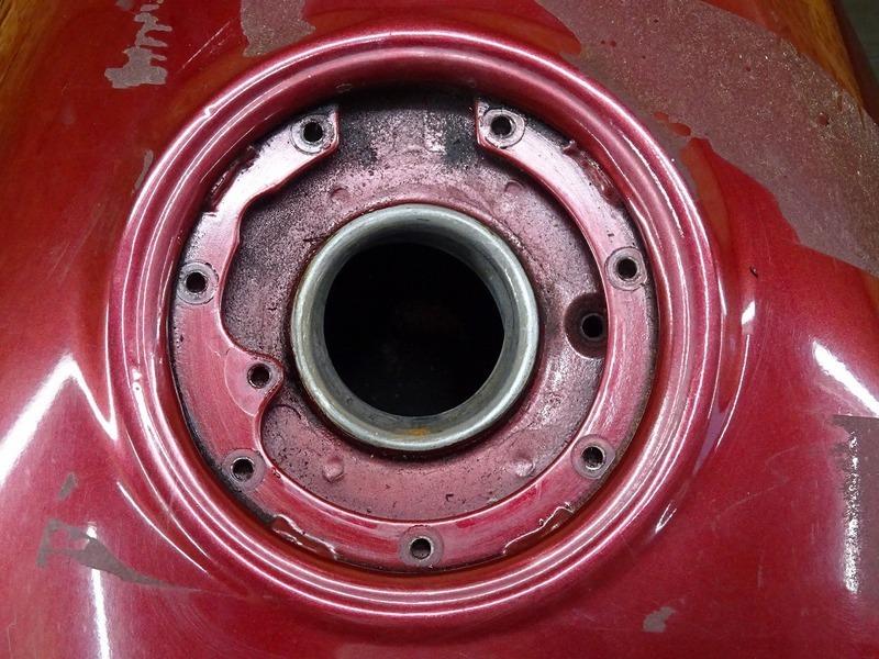 【200624】ZZR250(EX250H-072)■ 燃料タンク ガソリンタンク フューエルタンク 【ZZ-R250_画像3