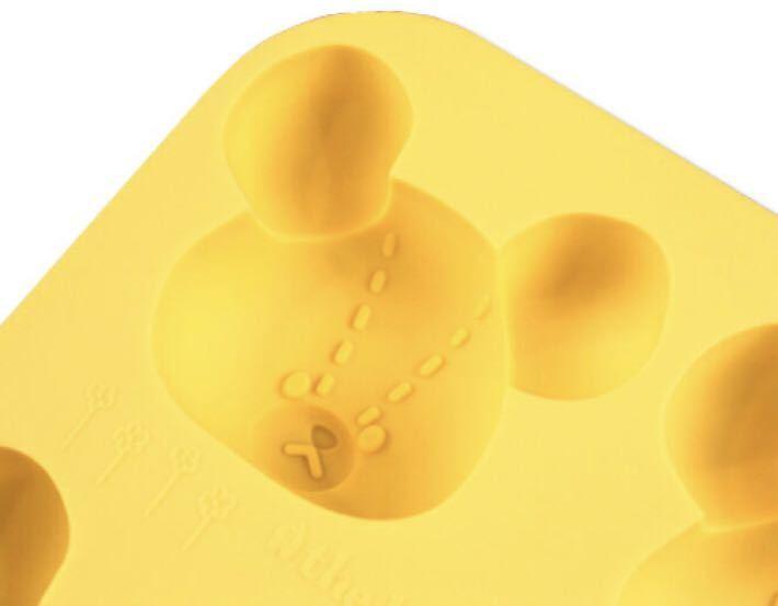 くまのがっこう◆シリコン型◆立体 ジャッキー◆マフィン マドレーヌ 氷 製菓 モールド アイストレー お菓子 チョコレート オーブン レンジ_画像4